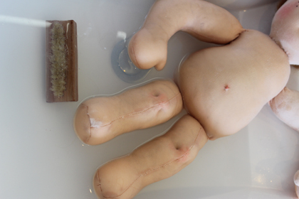 how to clean a waldorf cloth doll