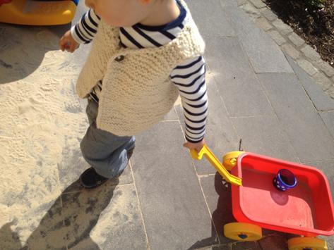 Stricken Auf den Nadeln Juni child vest ebook waldorf knit