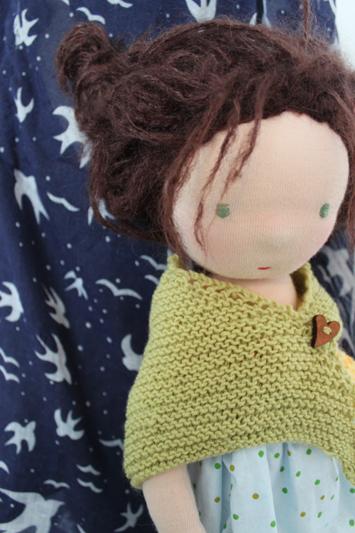 Puppe nach waldorf art