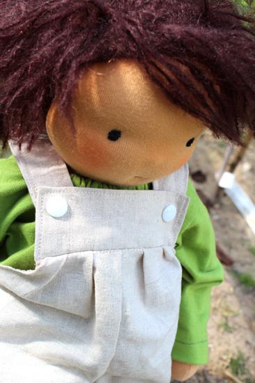 Puppenmachen Kukalka Mariengold Puppe