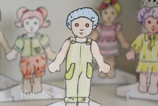 Paper Dolls, Waldorf, Papier Puppe, Anziehpuppe, Kukalka, Dolls, Diy, Ausschneidepuppen