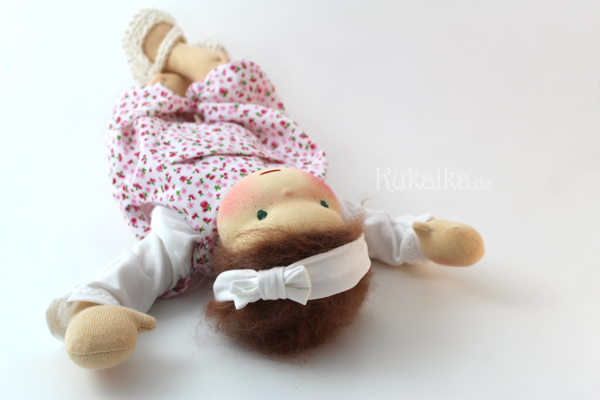 Baby Puppe waldorf
