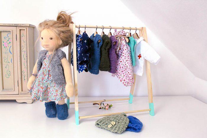 Kinderzimmer Puppe